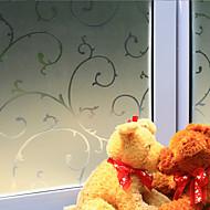 tanie סרטים ומדבקות לחלון-Drzewa/Listki Kraj Folia okienna, PVC/Vinyl Materiał Dekoracja okna Jadalnia Sypialnia Salon Kuchnia