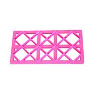 baratos Utensílios para Biscoitos-quatro c impressão quadrado cortador cortadores de biscoito bolo para bolos fondant ferramentas do cupcake de decoração do bolo cortador