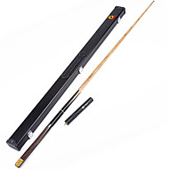 cheap Billiards & Pool-Three-quarter Two-piece Cue Cue Sticks & Accessories Snooker / English Billiards / Pool Wood 1.45 m