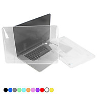 tanie Akcesoria do MacBooka-MacBook Futerał na Solid Color Plastikowy MacBook Pro 13- palců s Retina displejem