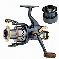 cheap Fishing-Fishing Reel Carp Fishing Reels 5.2:1 Gear Ratio+10 Ball Bearings Exchangable Sea Fishing Spinning Freshwater Fishing Trolling & Boat