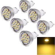 halpa -YouOKLight 6W 450-500 lm GU10 LED-kohdevalaisimet 15 ledit SMD 5630 Koristeltu Lämmin valkoinen AC 85-265V