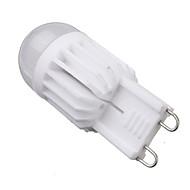 baratos Luzes LED de Dois Pinos-YWXLIGHT® 1pç 6 W 540 lm G9 Lâmpadas Espiga T 2 Contas LED COB Regulável Branco Quente / Branco Frio 220-240 V / 110-130 V / 1 pç