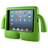 Para Impermeável / Com Suporte / Segura Para Crianças Capinha Capa Traseira Capinha Cor Única Rígida EVA Apple iPad Mini 3/2/1