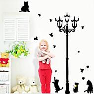風景 動物 建築 カートゥン ウォールステッカー プレーン・ウォールステッカー 飾りウォールステッカー, ビニール ホームデコレーション ウォールステッカー・壁用シール 壁