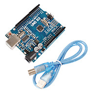 cheap Electrical Equipment & Supplies-Improved Version UNO R3 ATMEGA328P Board for Arduino Compatible