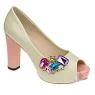 お買い得  靴用品-1ペア プラスチック デコレーションアクセント 女性用 オールシーズン 結婚式 カジュアル バケーション シルバー レインボー