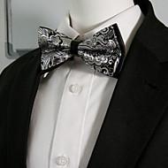 Homens Festa Raiom, Gravata Borboleta - Laço Camadas Estampa Colorida Estampado Cashemere