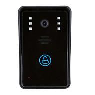 billige Dørtelefonssystem med video-ENNIO Trådløs Fotografert Opptak 3.5inch Telefon 720Pixel En Til En Video Dørtelefon