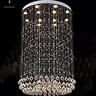 billige Takbelysning og vifter-Lysekroner Krystall/LED Moderne / Nutidig/Traditionel / Klassisk/Rustikk/ Hytte/Tiffany/Vintage/Rustikk/Øy