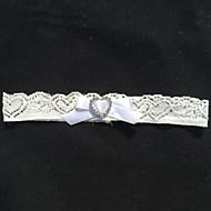 cheap Wedding Garters-Lace Wedding Garter with Rhinestone Sweetheart Wedding AccessoriesClassic Elegant Style