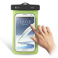 billiga Mobil cases & Skärmskydd-fodral Till Universal Vattentät / med fönster Liten påse Enfärgad Mjukt PC för S6 edge / S6 / S5 Mini