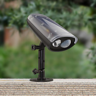 Solar Power LED Spotlight Montion Sensor Activated Security Wall Flood Path Garden Lamp Led Light Waterproof