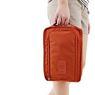 ナイロンシューズバッグ&ボックス / 靴紐(ブルー / ピンク / レッド / グレイ / オレンジ)