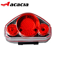 billige Sykkellykter og reflekser-Baklys til sykkel / sikkerhet lys / Baklys - Sykkellykter - Sykling Enkel å bære, Flere moduser knapp batteri Batteri Sykling - Acacia / IPX-4