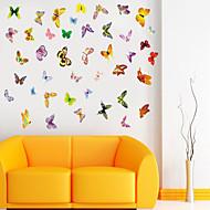 zid naljepnice zid naljepnice stil boji leptira PVC zidne naljepnice