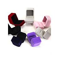 Laatikko Neliö Korvakorut / Sormus / Korut laatikko - Moderni Maalattu, Punainen, Sininen 6 cm 5 cm 4 cm
