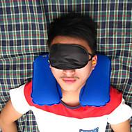 viagem portátil de três peças travesseiro inflável