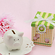 Lovely Piggy Ceramic Bank