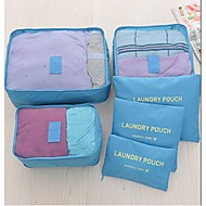 Bagagem/Mala de Mão - Unissex - Uso Profissional - Tecido Oxford - Rosa / Azul / Laranja / Vermelho / Cinza