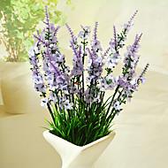 billige Kunstig Blomst-Kunstige blomster 1 Afdeling Moderne Stil Lyseblå Bordblomst