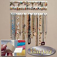 tanie Przechowywanie biżuterii-Plastikowy Wielofunkcyjne Dom Organizacja, 1 zestaw Organizery do biżuterii