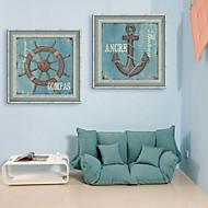 levne Obrazy v rámu-Kanvas v rámu Set v rámu Zátiší Retro Fantazie Wall Art, PVC Materiál s rámem Home dekorace rám Art Obývací pokoj Ložnice Kuchyň Jídelna