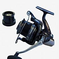 billiga Fiske-Fiskerullar Snurrande hjul 4.1:1 Växlingsförhållande+14 Kullager Hand Orientering utbytbar Sjöfiske Spinnfiske Jiggfiske Färskvatten