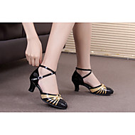 baratos Sapatilhas de Dança-Mulheres Balé / Sapatos de Dança Latina / Tênis de Dança Glitter / Paetês / Sintético Salto Alto / Sandália / Têni Lantejoulas / Gliter