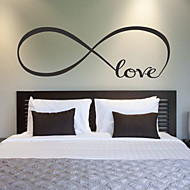 cheap Wall Stickers-Romance Fashion Cartoon Words & Quotes Holiday Transportation Wall Stickers Plane Wall Stickers Decorative Wall Stickers, Vinyl Home