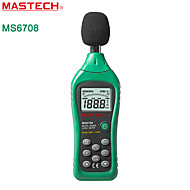MASTECH-ms6708 digitale sonometru