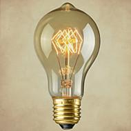 billige Glødelampe-1pc 40W E27 E26/E27 E26 A60(A19) Hvit 2300 K Glødende Vintage Edison lyspære Glødelampe AC110-240 AC 110-220 AC 110-130V AC 220-240V V
