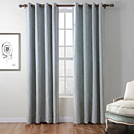 Rod Pocket Grommet Top Tab Top Double Pleat One Panel Curtain Country Modern Mediterranean Baroque European Designer , Jacquard Stripe