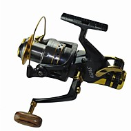 זול דיג-גלילי דיג רולר לדיג קרפיון 5.2:1 יחס ציוד+10 מיסבים כדוריים אוריינטציה יד ניתן להחלפה דיג בים Spinning דייג במים מתוקים חכות וסירת דיג