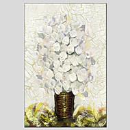 billiga Stilleben-Hang målad oljemålning HANDMÅLAD - Stilleben Europeisk Stil Moderna Duk
