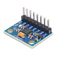 det nyeste mpu 6050 6000 3v ~ 5v 6 aksel gyro accelerometer modul