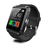 Smartur U8 for iOS / Android Brændte kalorier / Temperatur Display / Smart Etui / Touch-skærm / Vækkeur Aktivitetstracker / Vækkeur / Handsfree opkald / Mediakontrol / Beskedkontrol / Skridttællere