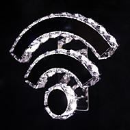 billige Vegglamper-ecolight ™ ledet 12w krystallvegglampe& sconces metall ledet vegg lys 90-240v