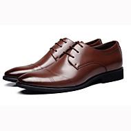 メンズ 靴 レザー 春 夏 秋 冬 フォーマルシューズ オックスフォードシューズ 用途 ブラック Brown
