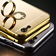Carcasă Pro Apple Pouzdro iPhone 5 iPhone 6 iPhone 6 Plus iPhone 7 Plus iPhone 7 Galvanizované Zrcadlo Zadní kryt Pevná barva Pevné