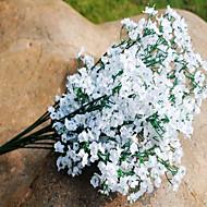 billige Kunstige blomster-Gren Silke Plastikk Brudeslør Bordblomst Kunstige blomster 35x15x15x8cm