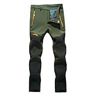 Erkek Spodnie turystyczne Açık hava Su Geçirmez Sıcak Tutma Rüzgar Geçirmez Yağmur-Geçirmez Giyilebilir Nefes Alabilir Kış Tüylü Kumaş