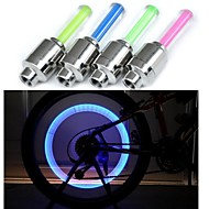 2PCS Copious  Bike Hot Wheels Bike Motorcycle Light Valve / Gas Nozzle Lights Taillights