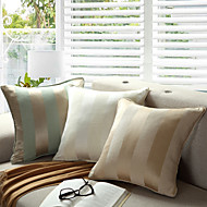cheap Cushion Sets-pcs Cotton Polyester Pillow With Insert, Striped Casual Accent/Decorative Country Traditional Traditional/Classic Modern/Contemporary