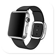 Bracelet de Montre  pour Apple Watch Series 4/3/2/1 Apple Boucle Moderne Vrai Cuir Sangle de Poignet