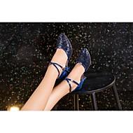 billige Moderne sko-Dame Moderne Ballett Glimtende Glitter Paljett Kunstlær Syntetisk Sandaler Joggesko Høye hæler Innendørs Profesjonell Nybegynner Trening