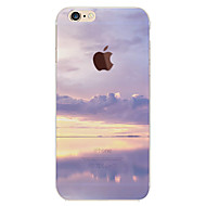 billiga Mobil cases & Skärmskydd-fodral Till Apple iPhone 6 Plus / iPhone 6 Mönster Skal Himmel / Landskap Mjukt TPU för iPhone 6s Plus / iPhone 6s / iPhone 6 Plus