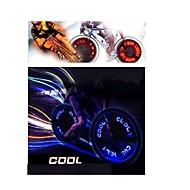 hjul lys LED - Sykling Fargeskiftende AG10 90 Lumens Batteri Sykling Kjøring Motorsykkel
