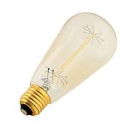 billige Globepærer med LED-YouOKLight 400 lm E26 / E27 LED-globepærer B LED perler SMD Dekorativ Varm hvit 220-240 V