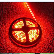 お買い得  LEDストリップライト-600 LED レッド カット可能 充電式 防水 ノンテープ・タイプ DC 12V